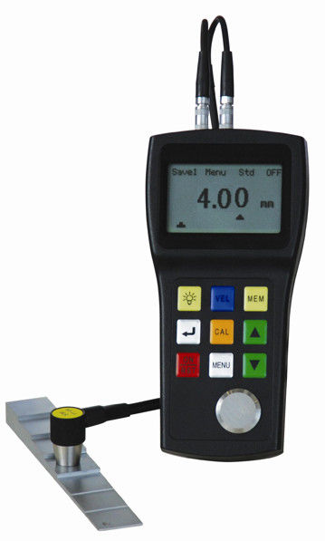 Ultrasonic Paint Coating Thickness Gauge With 500 Test Values Automatic Power Off Device