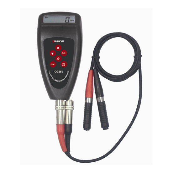 Magnetic induction eddy current  Ferrous / Non - Ferrous digital Coating Thickness Gauge
